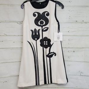 Victoria Beckham floral dress NWT